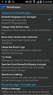 Speicher-Beschleuniger – Miniaturansicht des Screenshots