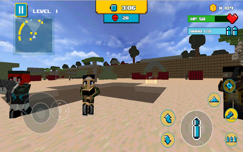 Block Mine Beach Bomb- screenshot thumbnail