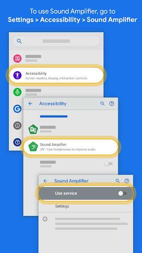 Capturas de pantalla de Sound Amplifier 2