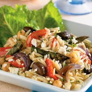 Mediterranean Orzo Salad With Feta Recipes.