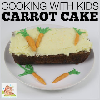 The best Carrot cake in the world - c is for carrot.