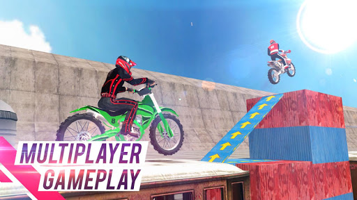 Code Triche Trial Bike 3D - Bike Stunt Games APK MOD screenshots 1