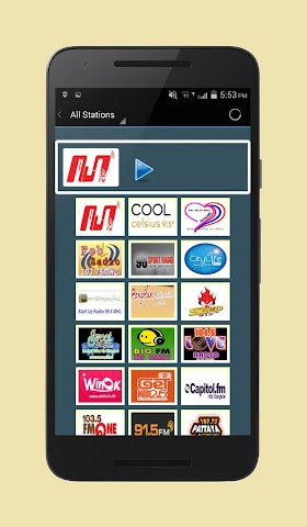 android Radio Thailand Screenshot 2