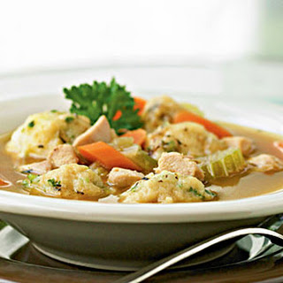 Herbed Chicken and Dumplings