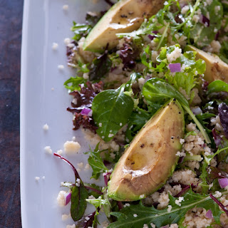 Roast Avocado & Couscous Salad