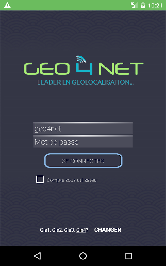 Geo4Net- screenshot