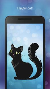 Playful cat live wallpaper - náhled