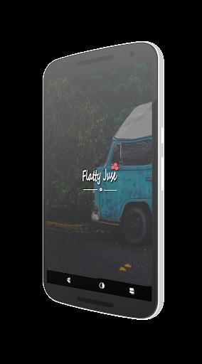Flatty Juse Dark Cm12.x theme