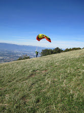 Photo: Looking out towards Geneva from Les Crets