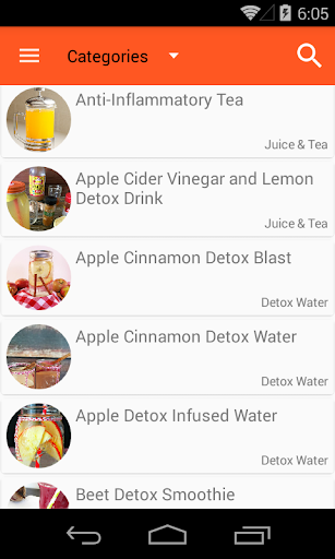 100+ Detox Drinks screenshot
