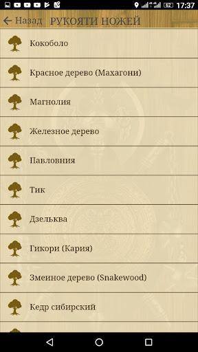 Ножи от А до Я. Справочник screenshot 22