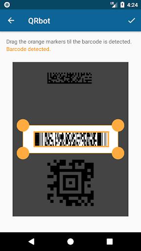 QRbot: QR code reader and barcode reader  screenshots 5