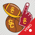 USC Trojans Animated Selfie Stickers icon