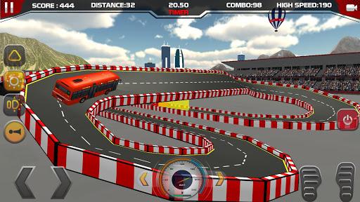 Modern City coach Bus Parking Stunt Game 2020 android2mod screenshots 10