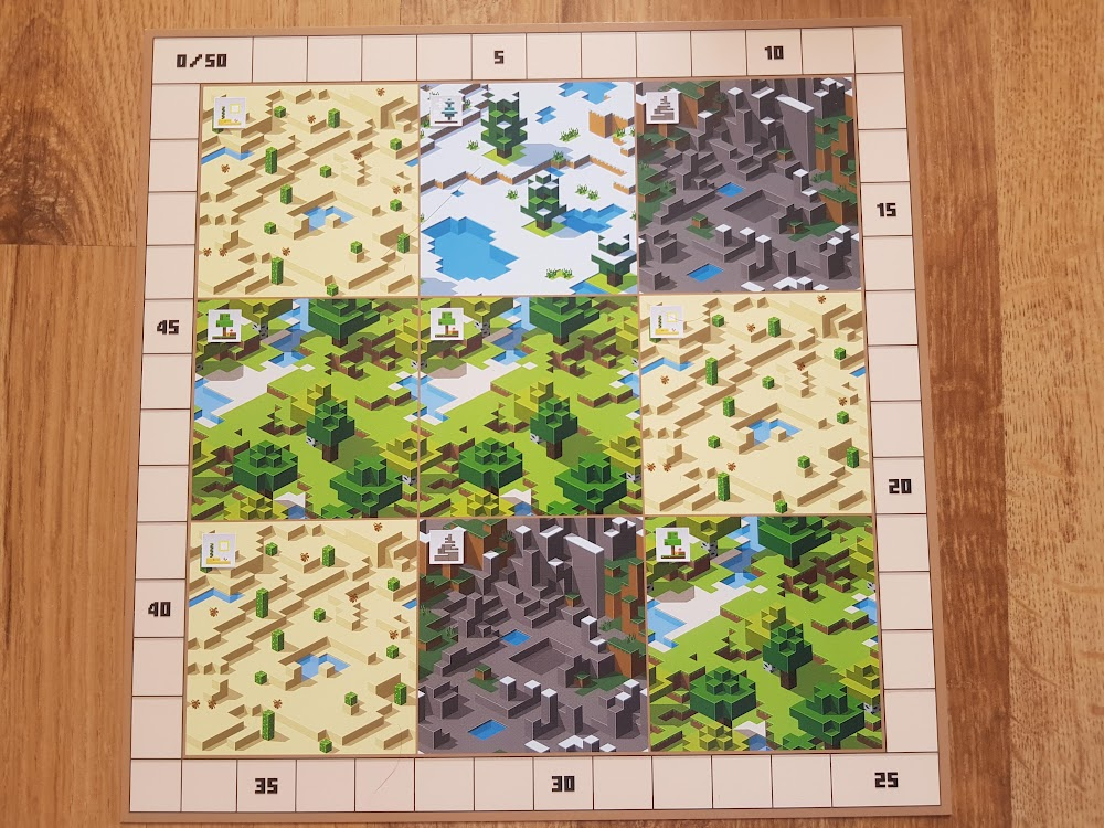 Minecraft - plansza gracza