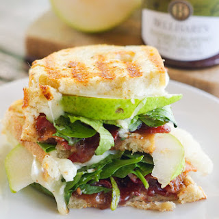 Pear, Bacon & Brie Panini Recipe