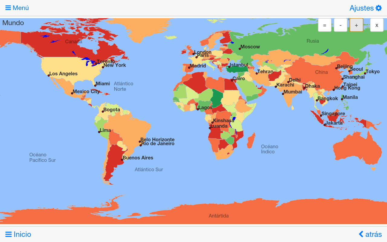 Mapamundi u0026 atlas MxGeo Pro - Aplicaciones Android en Google Play