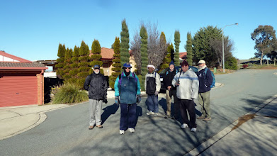 Photo: Guys plus manicured pine trees Bunduluk Cres