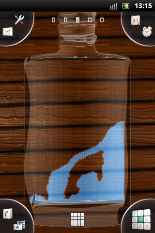 Water Bottle Live Wallpaper