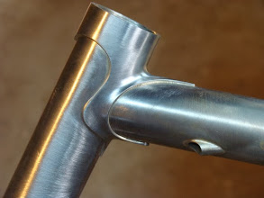 Photo: Another trimmed up Llewellyn lug along with my internal brake cable routing.
