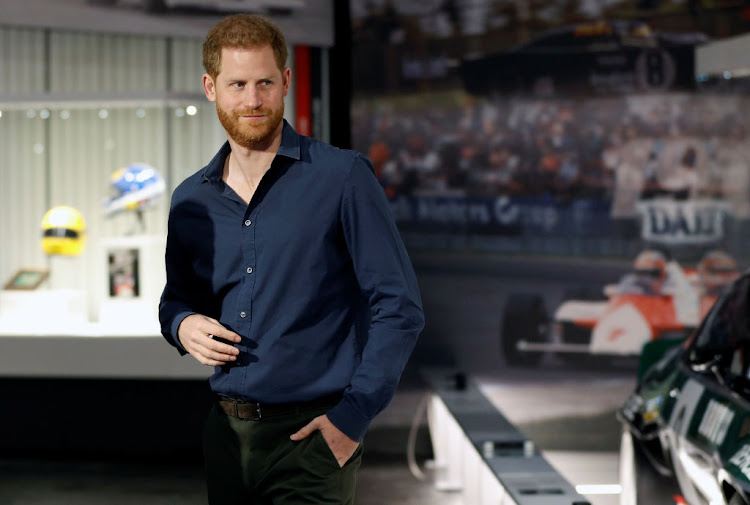 Prince Harry has been appointed CIO at BetterUp. File photo.
