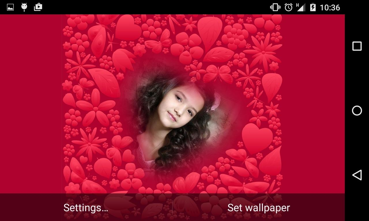 Romantic Live Wallpaper Deluxe- screenshot