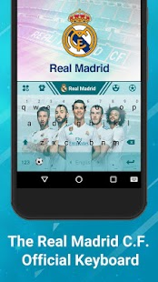 Real Madrid Official Keyboard - náhled