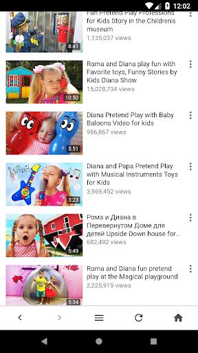 Kids Diana Show YouTube Videos 1.0.1 screenshots 12