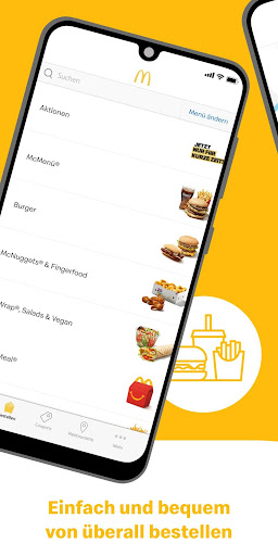 McDonald's Deutschland - Coupons & Aktionen 6.2.4.47126 screenshots 1