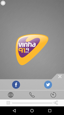 Radio Vinha FM / 91,9 /Goiânia - screenshot