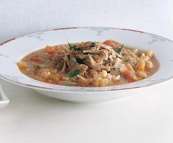 Tuscan Lamb Shanks With White Beans Recipe