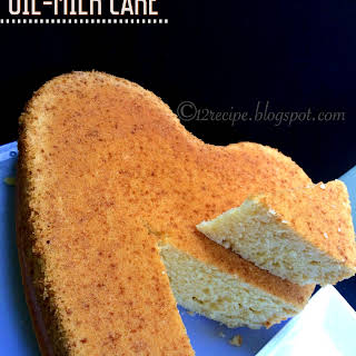 Moist and Fluffy Oil-Milk Cake on Stove top.