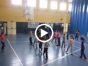 Video: Clase de aerobic de Silvia (profesora de prácticas ) y 6º A de primaria.