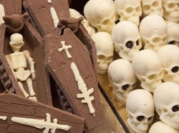 Chocolate Coffins And Skulls Recipe