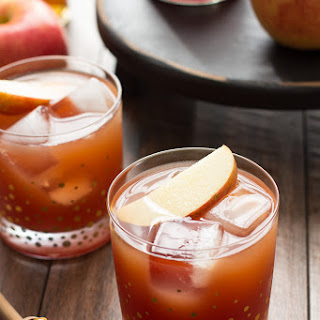 Pomegranate Cider Bourbon Splash