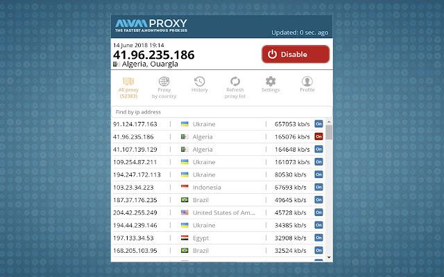 AWM Proxy Tools