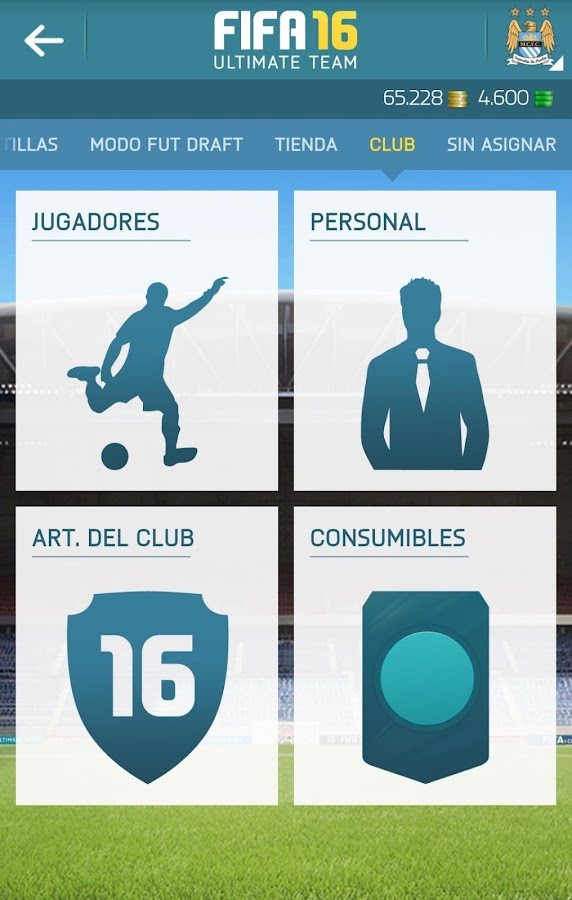 EA SPORTS™ FIFA 16 Companion: captura de pantalla