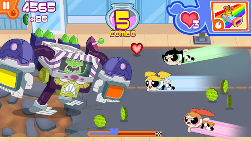 Flipped Out! - Powerpuff Girls  screenshots 2