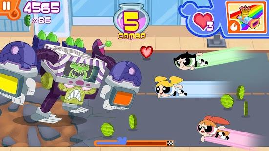 Girados! – Powerpuff Girls Screenshot