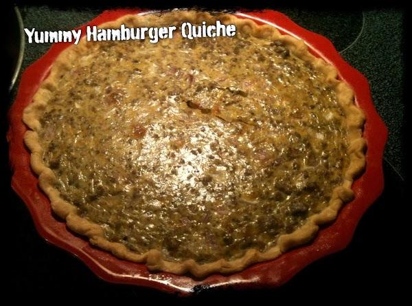 Hamburger Quiche Recipe