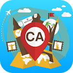 Canada travel guide map tours Icon