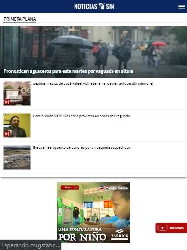 Noticias SIN screenshots 2