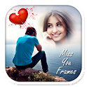 Miss You Photo Frames New HD icon