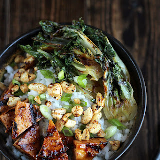 Pulo Grilled Tofu Bowl with Baby Bok Choy & Cashews