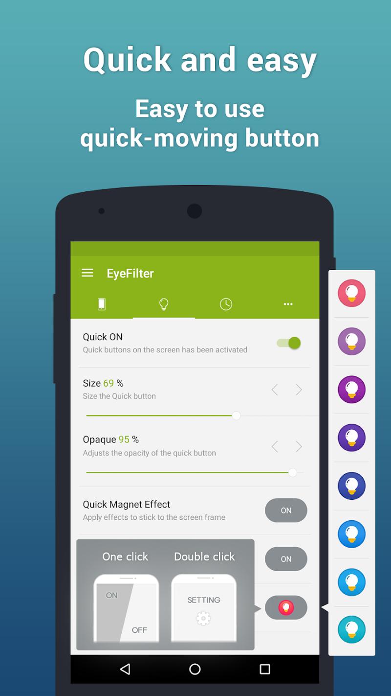 EyeFilter PRO - Bluelight Screenshot 2