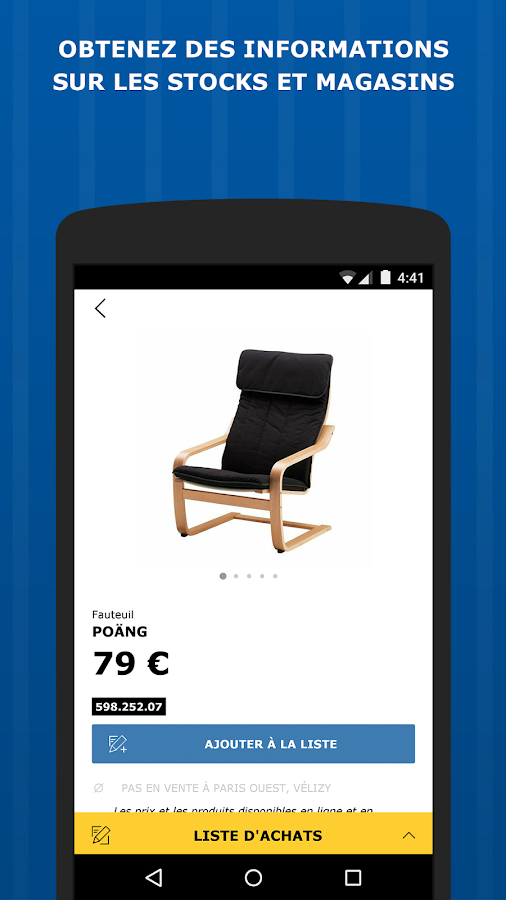 Ikea store applications android sur google play - Ikea le plus proche ...
