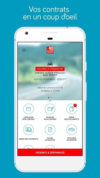 Direct Assurance Android App Screenshot