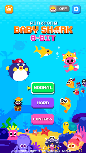 Baby Shark 8BIT : Finding Friends 1.0 screenshots 1