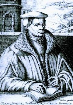 Porträt Thomas Müntzer.