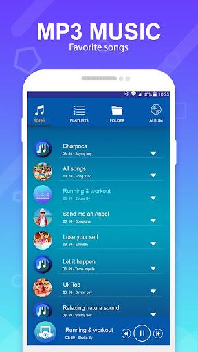 mp3 player - music player 1.1 screenshots 2